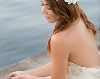 Mermaid Seashell Celebration Crown & headband Super comfortable. well made, beautiful floral headband