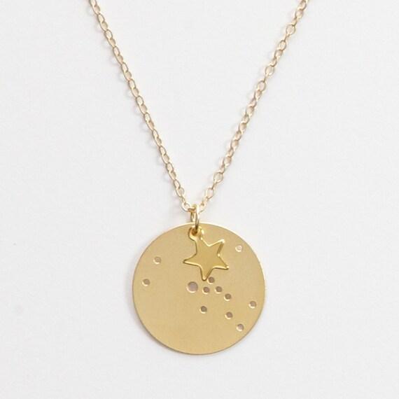 Taurus Small Constellation Charm Pendant By JulieNolanJewelry