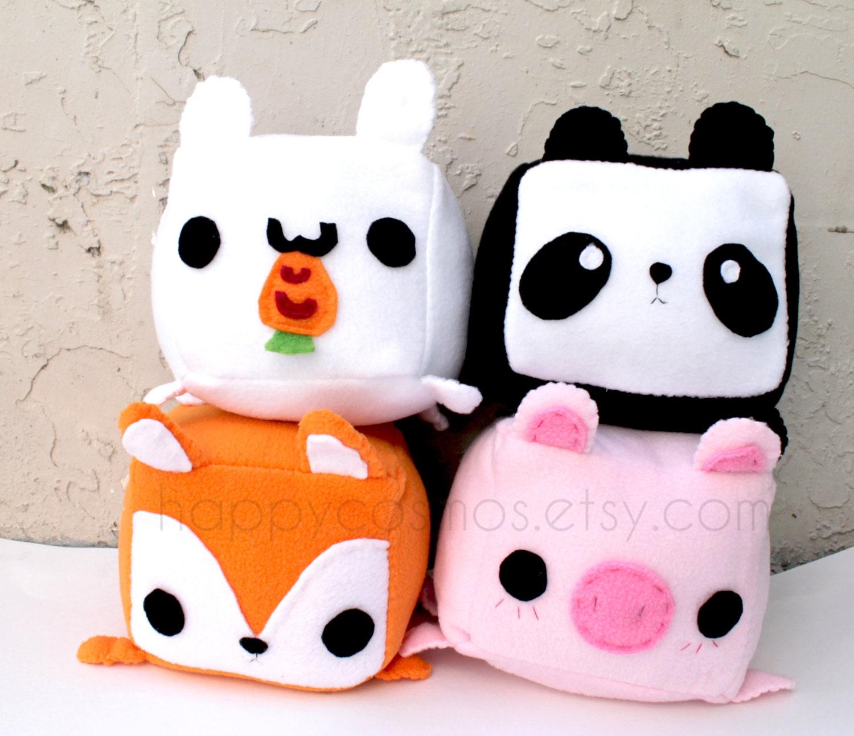 Animal Plush Kawaii Plushie Cute Stuffed Animal Children