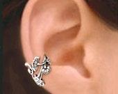 Art Nouveau Small ear cuff Sterling Silver earrings Jewelry Art Nouveau earrings Sterling silver ear cuff Art Nouveau ear cuff earcuff C-139