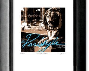 "Screenprint, New Orleans City Park ""Peristyles"""