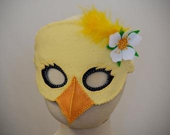 Lil' Chick Mask PDF Pattern