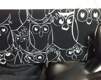 Owl Checkbook Cover