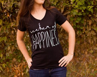 Seeker of Happiness Women's T-shirt