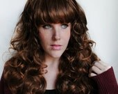 BAMBI wig // Brown Curly Natural Ombre Brunette Hair // Lolita Pretty Woodland