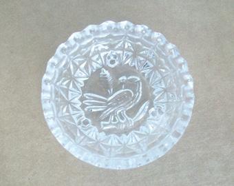 Bird Glass Dish //