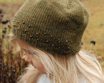 KNITTING PATTERN-The Hamilton Hat (Toddler, Child, Adult sizes)