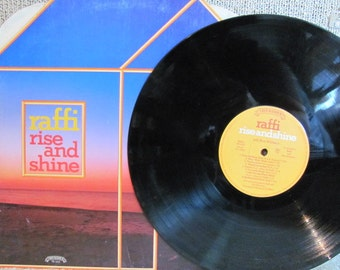 "Vintage Raffi's ""Rise and Shine"" Children's Vinyl Record Album - 1982 - Canada - Ken Whiteley"