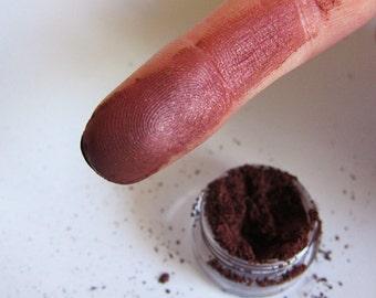 LOVESTRUCK Brown Mineral Eyeshadow Vegan Red Dark Maroon Shimmery Iridescent