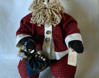 Chubby Santa ~ 25 Inches Tall