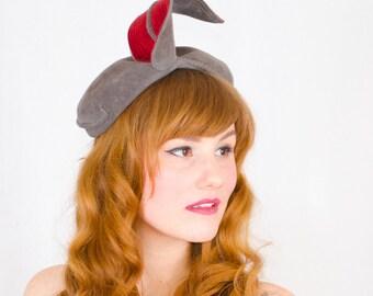 1940s vintage hat / toque / Lazarus