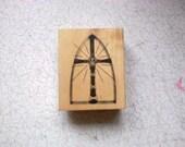 DESTASH - Do Crafts - Church Window Rubber Stamp