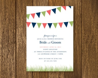 Jack and Jill Invitation