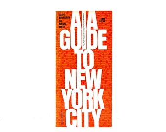 1988 AIA Guide to New York City Vintage Architecture City Necrology NYC Skyscrapers Big Apple Buildings NY Skyline