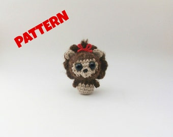 Wizard of Oz Lion Crochet Patter / Crochet Animal Pattern / Amigurumi Animal Pattern / Amigurumi Doll Pattern / Kids Pattern / Baby Patterns