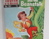 Vintage comic Jack and the Beanstalk