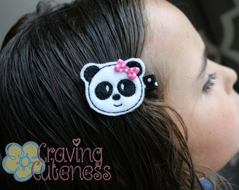 Panda Hair Clip - Meet Miss Pandie