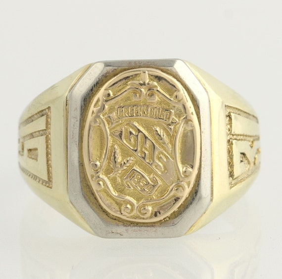 Vintage Grimsley High School Class Ring 1931 by WilsonBrothers