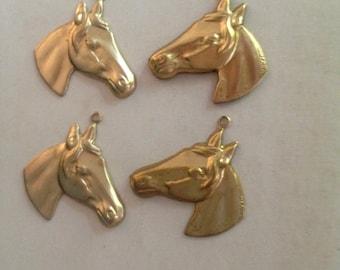 Pair of Pony Heads ( 1 pair )