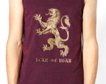 Lannister Hear Me Roar Unisex Tank Top
