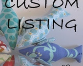 Custom listing for Caitlin Minnick