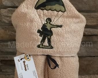 Military Hooded Towel