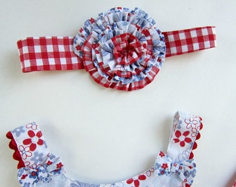 Matching Rosette or Flower Headband