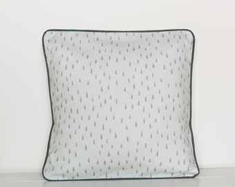 Raindrops cushion pillow cover 30cm
