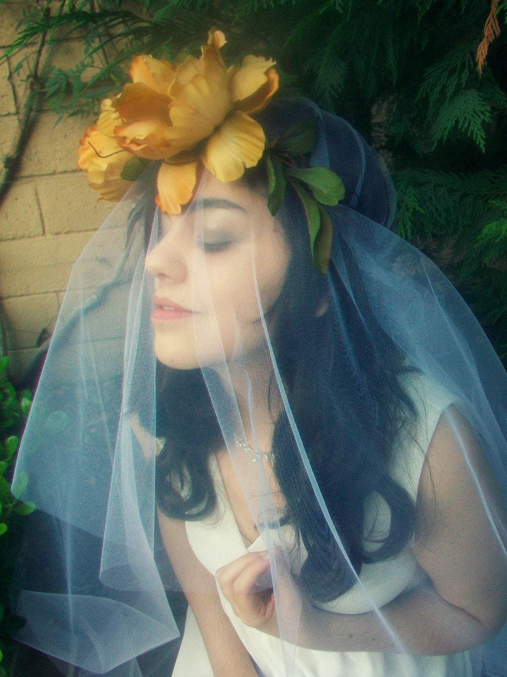 Bridal Hair Wreath Flower Bridal Crown Bridesmaid Flower Girl