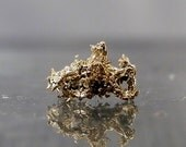 Wire Crystalized Gold Specimen from Nevada. Macro Specimen Collectible Mineral - DanPickedMinerals