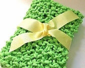 Spring Green Baby Blanket Photography Prop