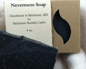 Nevermore Soap (Activated Charcoal) - HOLIDAY SALE PRICE