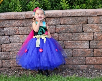 Ice Princess Dress- Tutu Dress - Pageant dress - Princess Tutu Dress - Christmas Dress for baby - Christmas gift for Baby - Holiday Dress