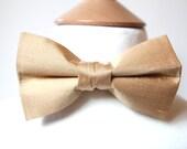 Bespoke Silk Pre-tied Bow Tie with adjustable strap, Wedding bow tie, Mens, teen, boy