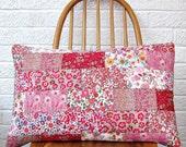 Liberty Wallflower Patchwork Cushion Kit - Custom Colours!