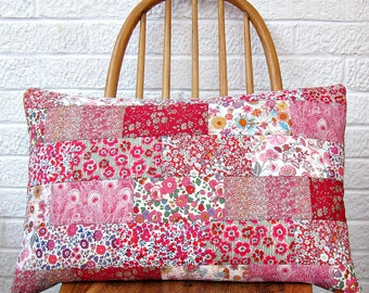 Liberty Wallflower Patchwork Cushion Kit - Custom Colours!
