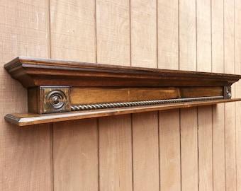 Fireplace mantle wall shelf - Custom modern wall shelf