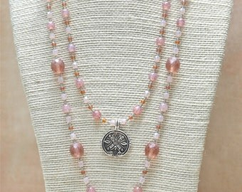 Layered Necklace Set - Peaceful