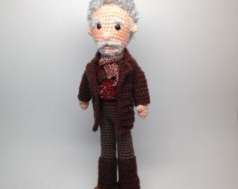 War Doctor Who Amigurumi doll Crochet Pattern