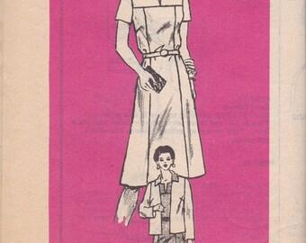 Summer Dress & Jacket Pattern Mail Order Pattern 4806 Size 20 1/2 Uncut