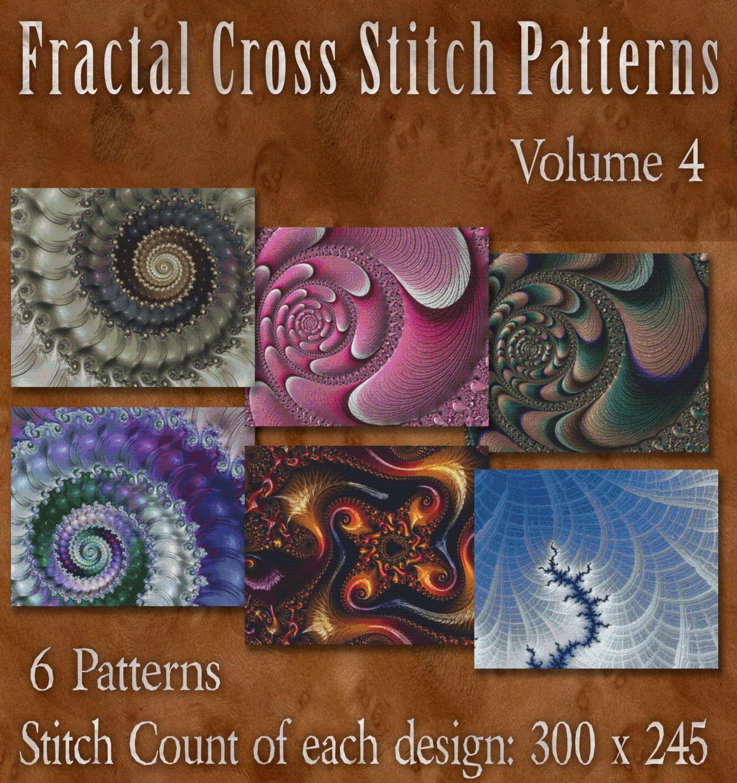 Counted Cross Stitch Designs - Fractal Cross Stitch Patterns ...
