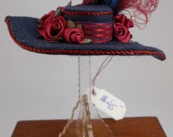 1inch Scale Dollhouse Miniature Hat