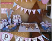 Cowgirl Party Printables,...