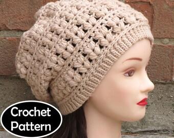 Riley Crochet Baby Hat Pattern : BABY BLANKET PATTERN Crochet Pattern Instant by AlyseCrochet