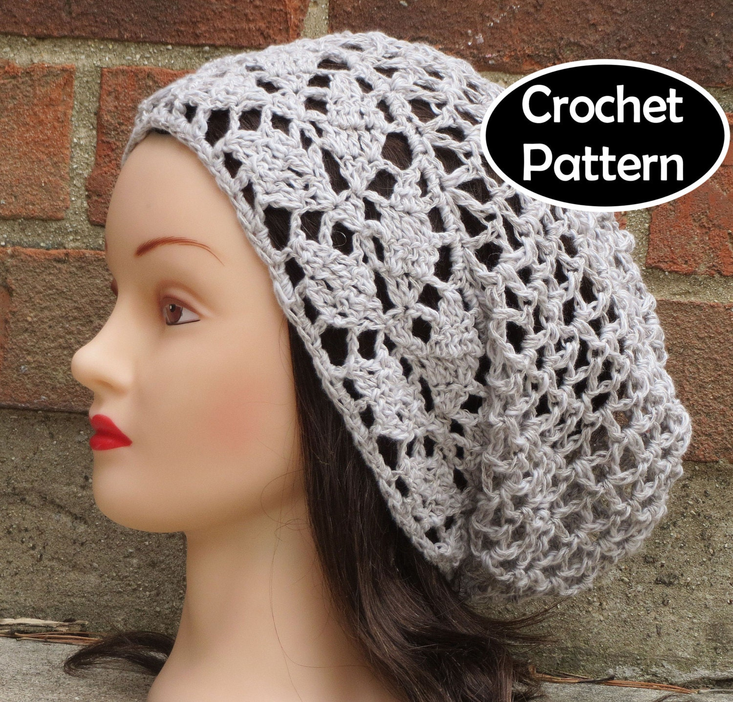 Crochet Hat Pattern Download : CROCHET HAT PATTERN Instant Download Pdf Avalon Slouchy Hat