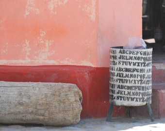 photographic print: Cafayate, Argentina street scene