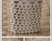 Tatted Flask Cover  PDF Pattern by RustiKate