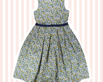 Girl's Liberty Print Dress for Age 4 to 10 years