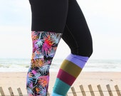 LEGGING - 'TROPICANA' Style Legging for SURF,  Yoga, Running, Biking