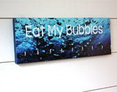 Swim Medal Holder - Eat My Bubbles - Medium